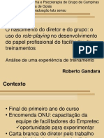 Uso de Role-playing No to de Funcao- Roberto Gandara