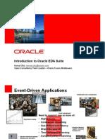 Oracle Event Driven Architecture -EDA