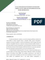 Artigo - Gestão de Risco nas Atividades de Investimento dos Regimes Próprios de Previdência Social dos Municípios do RS