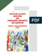 aCTA Concurso Infantil de Cuentos