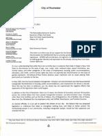 Rochester City Council GENDA Letter