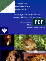 Seminario Imposto de Renda2011