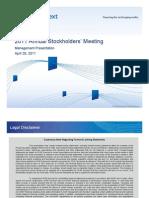 NYSE Euronext 1Q11 Presentation
