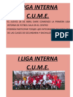 liga interna calendario