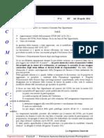 Comunicato N 6 CPON Del 20 Aprile 2011