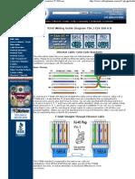RJ45 Color Guide Diagram -
