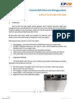 Tutorial BER Ethernet Dengan FTB-8510B
