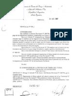 Decreto Provincial N° 2492/07 -Asignación por Maternidad
