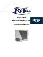 Music Tel 60 User Guide