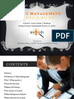 Talent Management Presentation V01