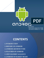 Power Point presentation Android technology