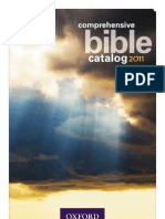 Oxford Bible Catalog - 2011