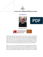 Brian Charlesworth and the Royal Society