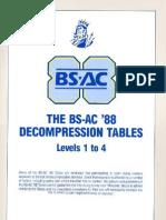 Bsac 88 Tables
