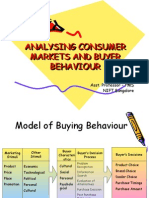 Topic 5 (Consumer Markets and Buyer Behaviour)