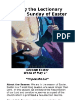 Living the Lectionary - Second Sunday of Easter