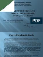 Paradisurile Fiscale Si Companiile Offshore - Studiu de Caz - Belize