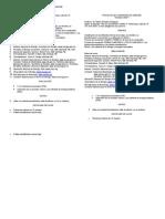 Temario, evaluación y reglas