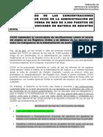 Hoja Informativa Concentraciones Registro Civil, 28-4-2011