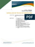 Surveillance de Travaux de Construction