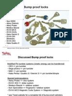 Locks Bump Key Present a Tie