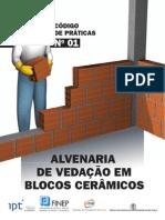 Codigo de Praticas n 01 - ALVENARIA