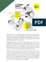 """Programa de la exposición """"Entornos vividos y No lugares"""""""