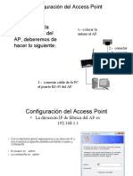 Access Point Configuracion