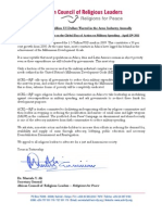 RFP Africa Statement on Military Spending