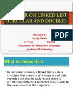Seminar on Linked List