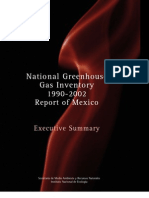 13.41 Mexico - National Greenhouse Gas Inventory 1990-2002