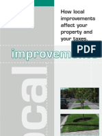 City of Calgary - Local Improvements Brochure