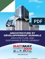 Architecture et dévelopement durable
