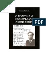 La Scomparsa Di Ettore Majorana_un Affare Di Stato - Di Umberto Bartocci