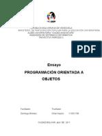 Programacion  Poo