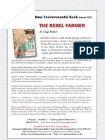 New Environmental Book - THE REBEL FARMER