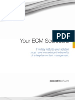 Your ECM Scorecard