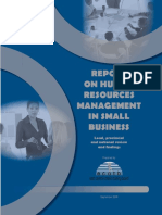 HR Management REPORT for Small Business