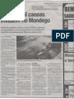 Mais de mil canoas invadem o rio Mondego
