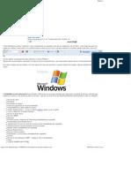 10 Maneras de Acelerar Windows XP