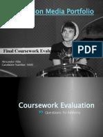 Foundation Media Final Coursework Evaluation