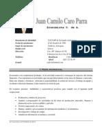 Hoja de Vida Camilo Caro