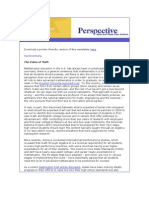 Achieve's April 2011 Perspective Newsletter