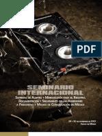 Memoria Del Seminario Internacional de Alertas