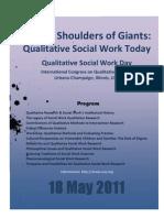 Social Work Day, International Congress on Qualitative Inquiry
