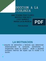 Diapositivas de La Motivacion Introduccio a La Psicologia
