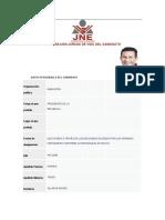 DECLARACIÓN JURADA DE VIDA DEL OLLANTA