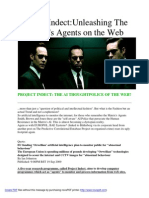 Project Indect -Unleashing the Matrix Agents on the Web
