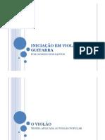 INICIAÇÃO EM VIOLÃO E GUITARRA PARA CRIANÇAS