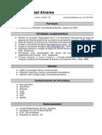 Currículo - Jonatas Rafael Alvares
